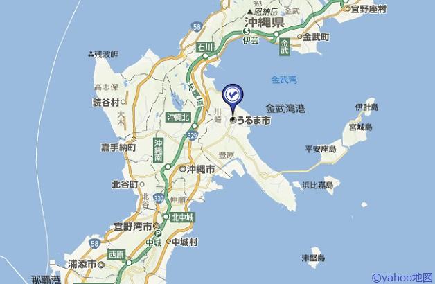 うるま市地図