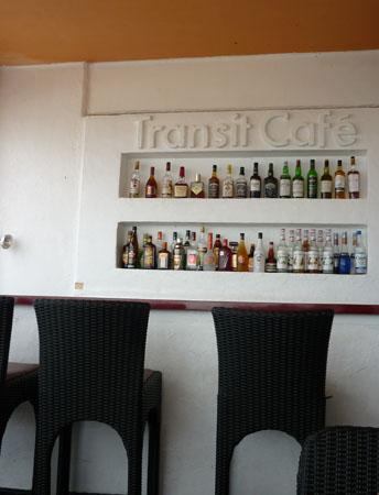 トランジットカフェ カウンター