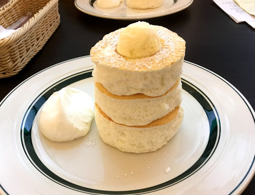 グラムのプレミアムパンケーキ